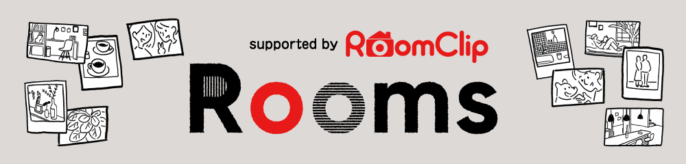 supported by RoomClip Rooms